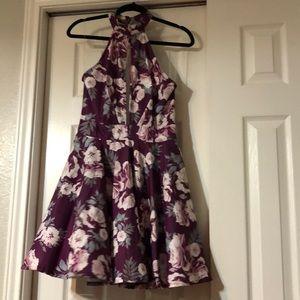 Short polyester dress